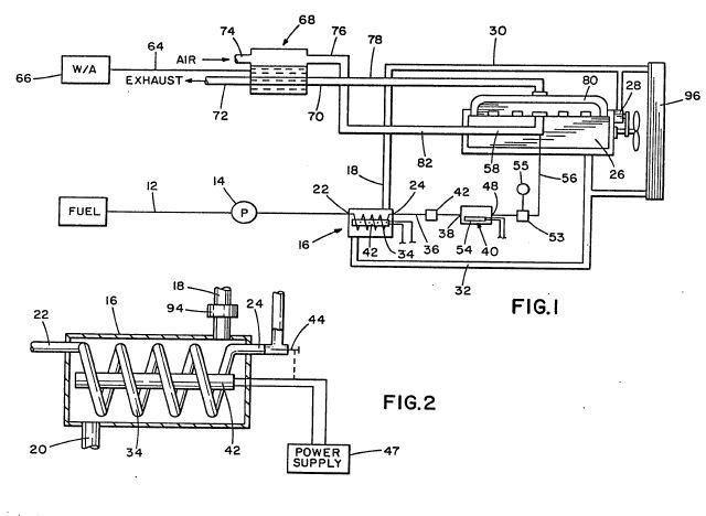 Herbert Hansen Vapor Carburetor -- 70  Mpg With Vaporized Alcohol  Water